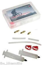 ORIGIN8 Pro Universal Hydraulic Disc Brake Bleed Kit Bike MTB Avid Shimano Hayes