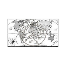 Marianne Design Clear Stamps - Map of the World CS0913