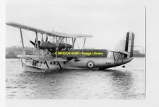 rp4238 - Short Rangoon Flying Boat - photo 6x4