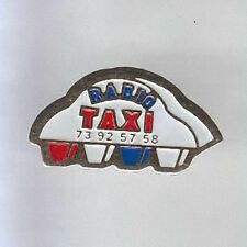 RARE PINS PIN'S .. AUTO CAR TAXI PUY DE DOME 63  ~7A