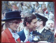 Princess Diana Nova Scotia The Royal Visit 1983 Softcover Photo Book