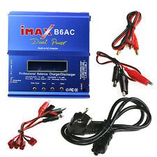 iMAX B6AC Digital RC Lipo NiMH Battery Balance Charger Discharger EU PLUG