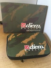diem smokers  pouch  in camo carp fishing hunting addventure tobacco