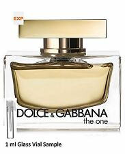Dolce&Gabbana The One Eau de Parfum for Her 1 ml Glass Vial sample