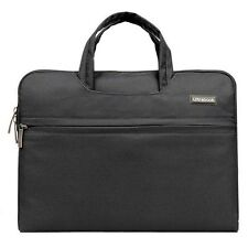 """Laptop Macbook Case 13"""" in Black Protective Carry Case lots of Storage"""