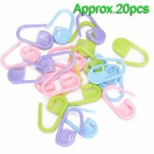 Knitting Crochet mix20 approx Locking Stitch Markers Nappy Pin onNewBabyGreeting