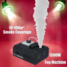 1500W DMX Culb Stage Vertical Fogger Smoke Machine Wirless Remote Control 1500QZ