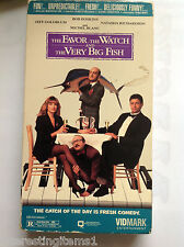 The Favor, the Watch and the Very Big Fish (VHS, 1994) Tested! Works!