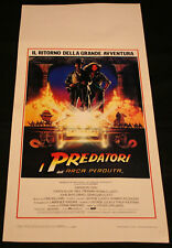 Locandina - Indiana Jones e i predatori dell'arca perduta di Steven Spielberg