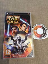 PSP : STAR WARS the clone wars les héros de la république