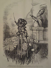 Drawing His Sword For The Political Roman Church 1875 Harper's Weekly