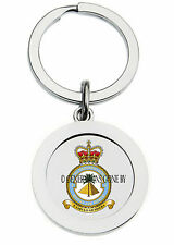 ROYAL AIR FORCE 4 FLYING TRAINING SCHOOL KEY RING (METAL)