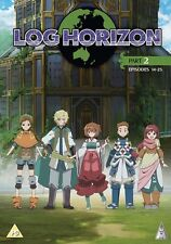 Log Horizon Season 1 Part 2 DVD New & Sealed Region 2 ANIME Manga Series