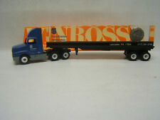 Winross Corestates Hamilton Bank Tractor Trailer Lucite w/ Embedded Coin MIB