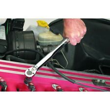 """NEW PITTSBURGH # 61276 3/8"""" Drive Click Stop Torque Wrench With Case"""