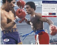 SUGAR RAY LEONARD SIGNED AUTOGRAPH AUTO PSA DNA CERTIFIED AUTHENTIC 8X10 PHOTO