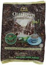 OLD TOWN 3 IN 1 Natural Cane Sugar White Coffee, 19 Ounce, New, Free Shipping