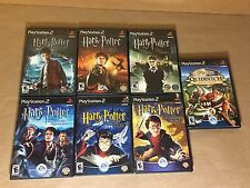 Complete 7 PS2 Game Series Harry Potter - COMPELTE CIB - Sorcerer's Stone + MORE