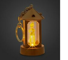 Disney Store Tinker bell fairy doll Lantern Light-Up Key chain peter pan tink