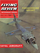 FLYING REVIEW INTERNATIONAL;  V/STOL AIRCRAFT OCTOBER 1964