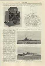 1924 Yarrow Destroyer Tyrian Gunboat Land Type Marine Type Boilers