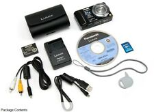 Panasonic LUMIX DMC-ZS10 14.1MP 16xLeica Wide Lens Optic Zoom Digital Camera GPS