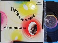 Johnny Richards ORIG UK LP Experiments in sound EX 1958 Capitol T981 MONO Jazz