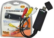 MD09* SCHEDA DI ACQUISIZIONE VIDEO AUDIO USB X PC NOTEBOOK  WIN XP/7 /8 VISTA