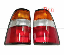 2 X REAR TAIL LIGHTS ISUZU PICKUP VAUXHALL BRAVA 1997 - 2002 98 99 00 01 02 L R