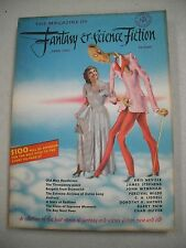 "SCARCE EARLY ISH! ""FANTASY & SCIENCE FICTION"" 6/51 VF! JOHN WYNDHAM! CHAD OLIVER"