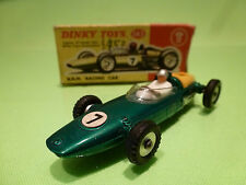 DINKY TOYS 243 B.R.M. BRM RACING CAR - F1 GREEN 1:43 - VERY GOOD IN BOX