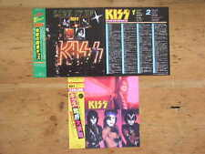 Kiss: (2) Japan Mini-LP Promo Covering Obi - Lick It Up / The Elder (no cd Q