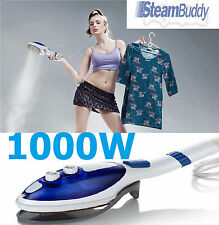 4 IN 1 1000 WATT HANDHELD PORTABLE TRAVEL GARMENT CLOTHES FABRIC STEAMER IRON