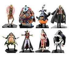One Piece Shichibukai DX Figure 8 (full) Set Doflamingo Mihawk Hancock Jinbei