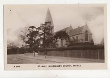 Enfield Cemetery Vintage RP Postcard S Short 283b