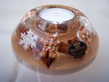 Dreamlight Teelicht * Lebkuchen-Teddy-Zimtstange * Dekor  -11 cm- ORIGINAL Gilde