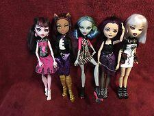Monster High Dolls Lot#1