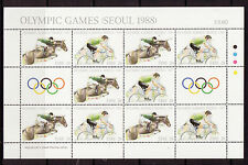 IRELAND 1988 SOEUL OLYMPIC GAMES SHEETLET UNMOUNTED MINT