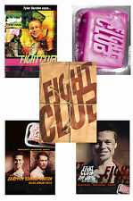FIGHT CLUB - SET OF 5 - A4 POSTER PRINTS # 1