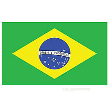 BRAZIL POLYESTER INTERNATIONAL COUNTRY FLAG 3 X 5 FEET