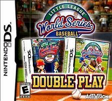 NINTENDO DS LITTLE LEAGUE BASEBALL NEW 2 GAMES IN ONE GAME