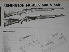 REMINGTON MODEL 600-660 RIFLE EXPLODED VIEW