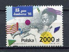36013) POLAND 1993 MNH** 35th Intl. Jazz Jamboree 1v.