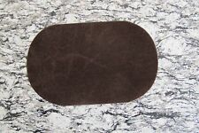 "#5113BR 7"" Lot 2Pcs Coffee Oval Elbow Knee Patches Repair Appliqué"