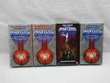 MOTU,200X,VHS TAPES,Lot of 4,Sealed,Masters of the Universe,he-man