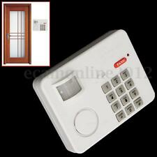 Wireless PIR Motion Sensor Alarm Security Keypad With Panic Button Home Carport
