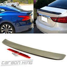 OE Style Trunk Spoiler Wing Unpaint For Nissan Maxima A36 8th 4DR Sedan 2016