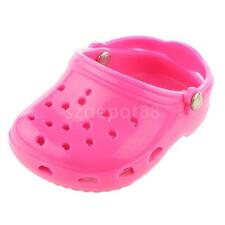 """Pink SANDALS SLIPPERS SHOE fit 18"""" AMERICAN GIRL OUR GENERATION Doll Clothes"""
