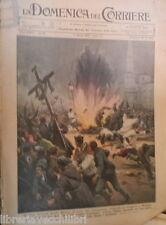 LA DOMENICA DEL CORRIERE 11 aprile 1937 Guerra di Spagna Carabinieri Aviazione