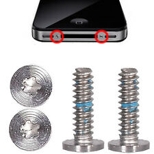 4 pcs Pentalobe Star Dock Connector Bottom Screws For iPhone 4 4S GSM CDMA USA